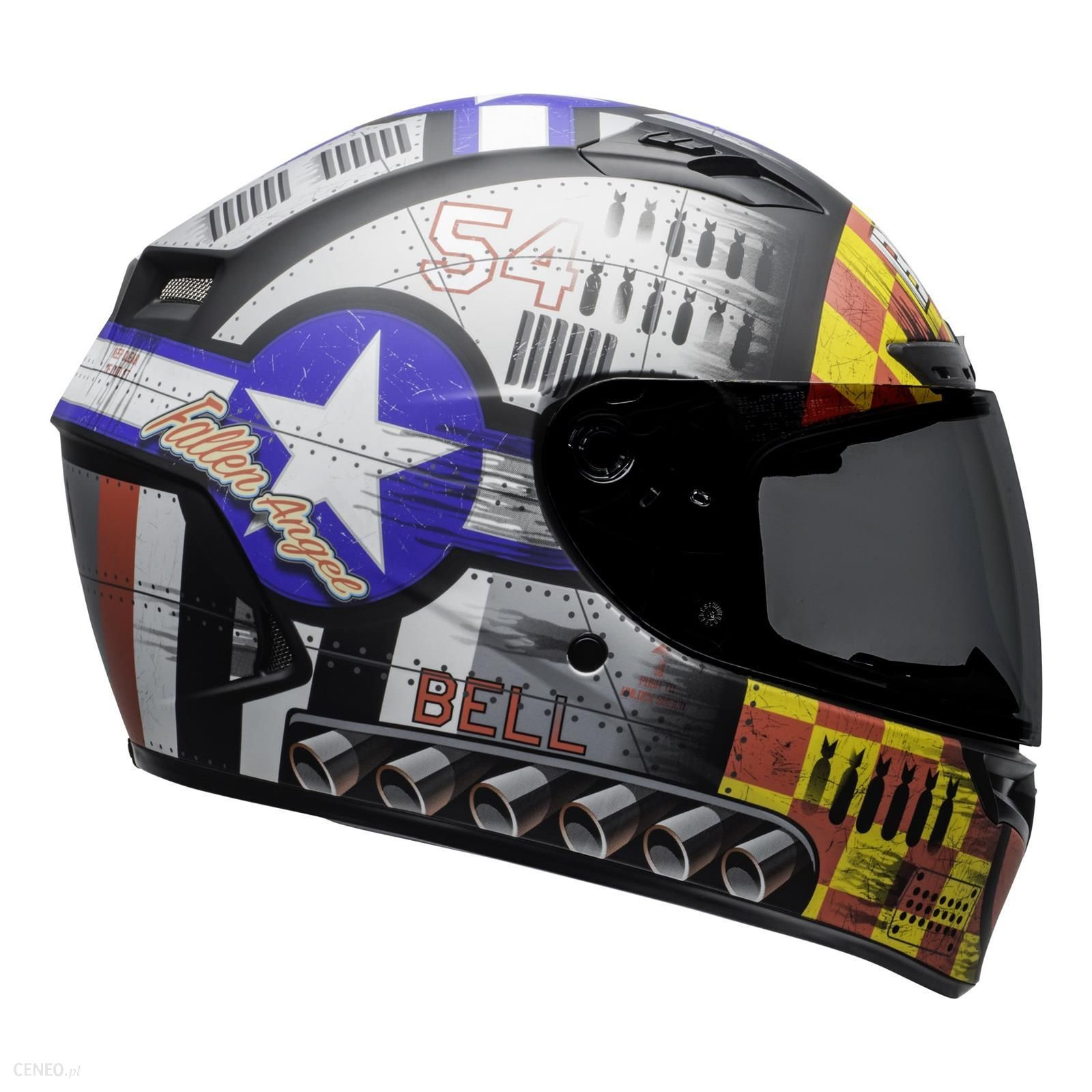 Bell Kask Integralny Qualifier Dlx Devil May Care M szary