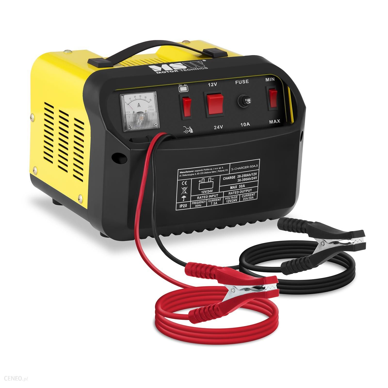 msw Prostownik 1224V 30A rozruch 130A S-CHARGER-50A.3